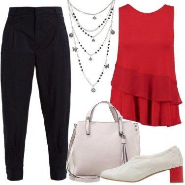 Outfit Con una comoda décolleté