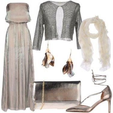 Outfit Il bagliore dei metalli