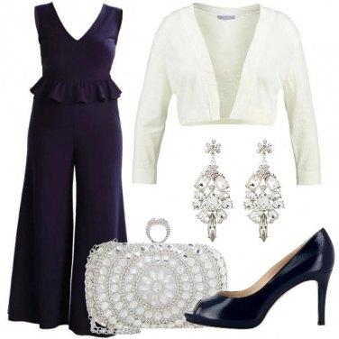 Outfit Jumpsuit per una cerimonia