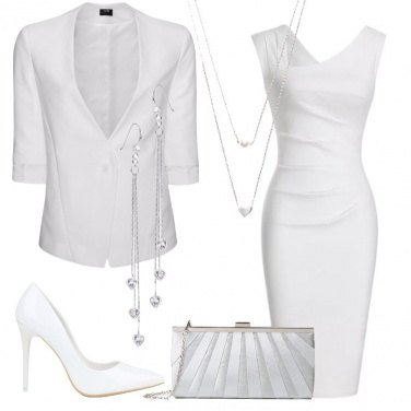Outfit Bianco etereo
