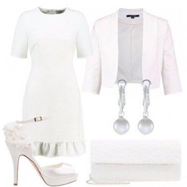 Outfit Una sposa semplice e informale