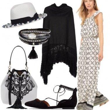 Outfit In bianco e nero
