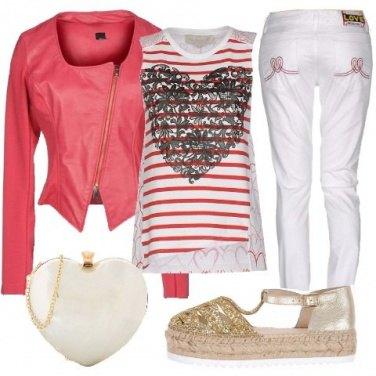 Outfit Se ti piacciono i cuori