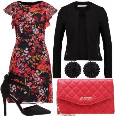 Outfit Serata floreale