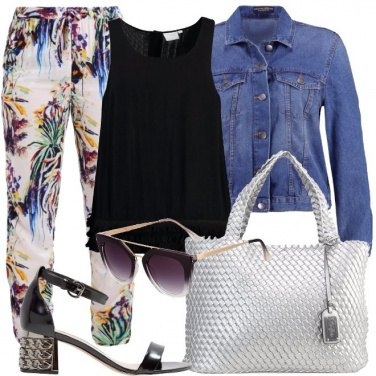 Outfit Frizzante con glamour