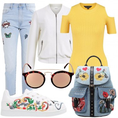 Outfit Un\'esplosione di fantasie