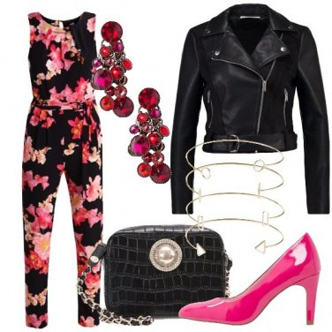 Outfit Jumpsuit a fiori