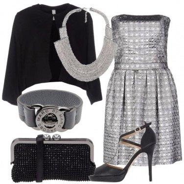Outfit Abito laminato