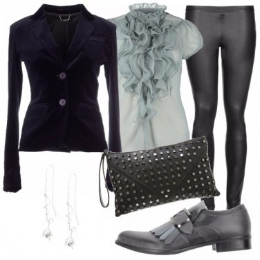 Outfit Grigio silver