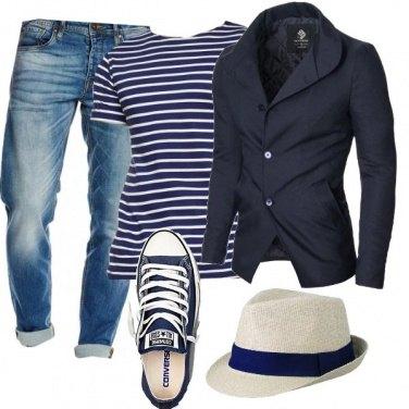 Outfit Il blu la mia passione