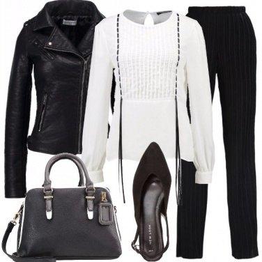 Outfit Una camicetta particolare