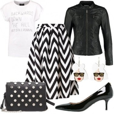 Outfit Tacco comodo