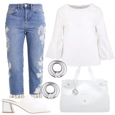 Outfit In bianco trendy