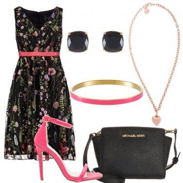 Outfit Con il vestito a fiori
