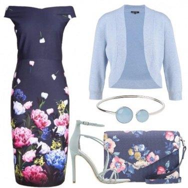 Outfit Una cerimonia con i fiori