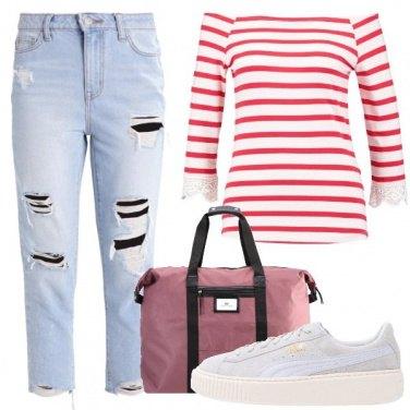 Outfit Comoda in viaggio