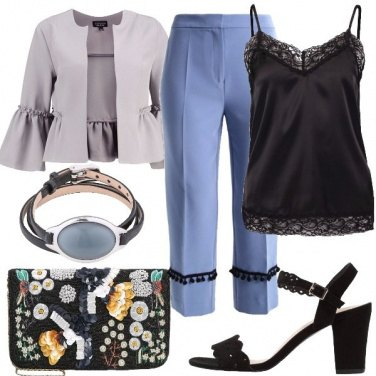 Outfit Pizzo di sera