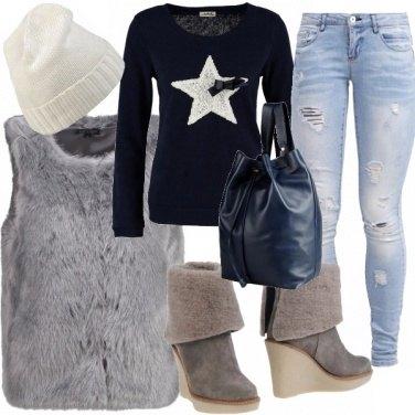 Outfit I colori del ghiaccio