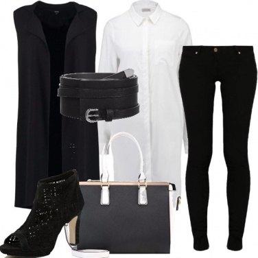 Outfit Smanicato e camicia