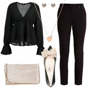 Outfit Chic con il fiocco