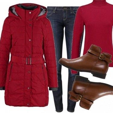 Outfit Rosso relativo!