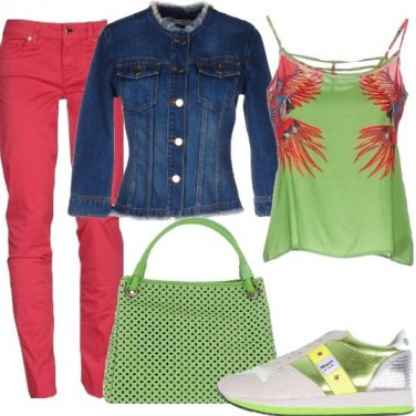 Outfit Energia in greneery