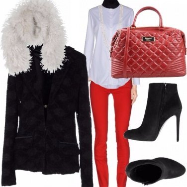 Outfit La solita giacca nera???