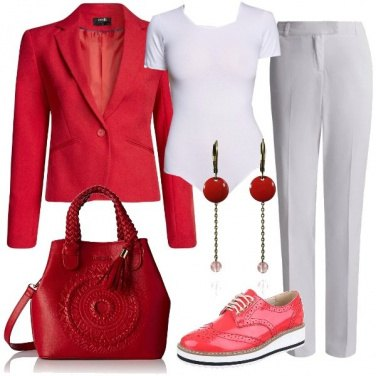 Outfit Sporty tailleur