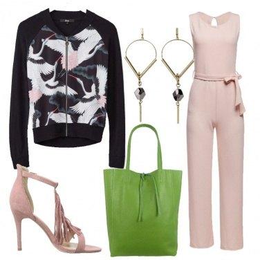 Outfit La borsa la scelgo verde