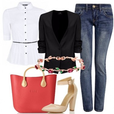 Outfit Femminile in jeans