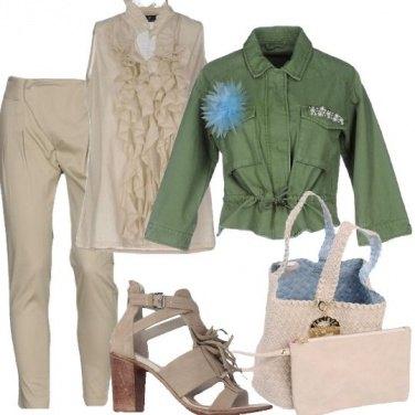 Outfit Un giubbotto estroso