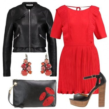 Outfit Il rosso colpisce sempre