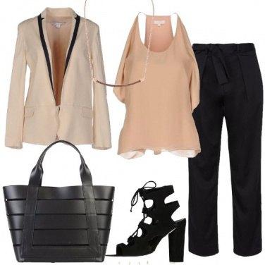 Outfit Femminile con il pantalone