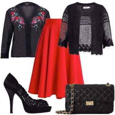 Outfit Floreale un po\' etnico