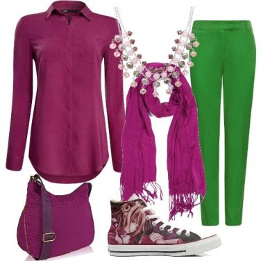 Outfit A tutto colore