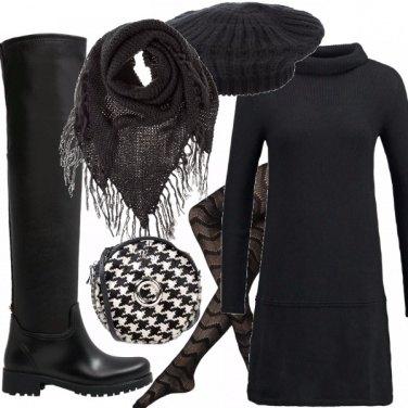 Outfit Nero di giorno!