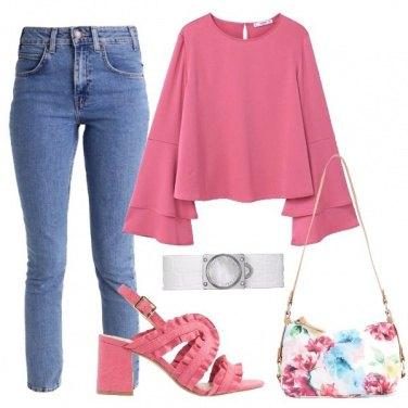 Outfit Il classico rosa