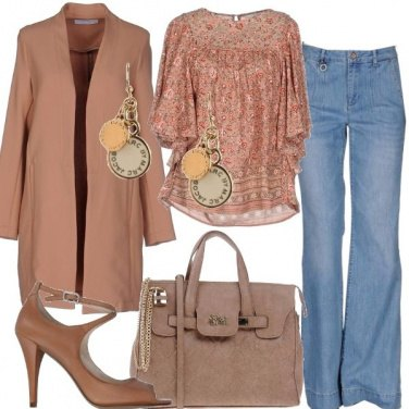 Outfit Semplice femminilità