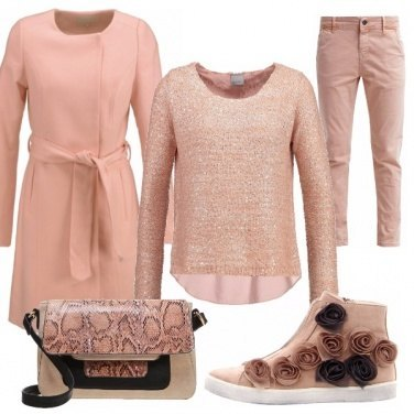 Outfit Dusty rose