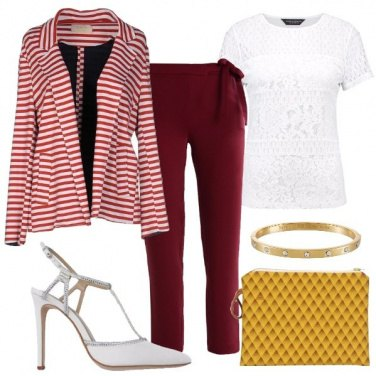 Outfit La Mary Jane bianca