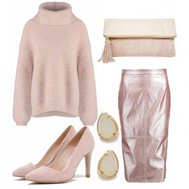 Outfit La vie en... rose poudré