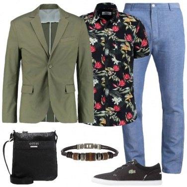 Outfit Originale a fiori