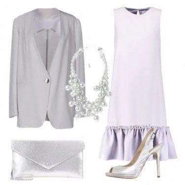 Outfit Effetto perlato