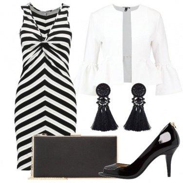 Outfit Intramontabile bianco e nero