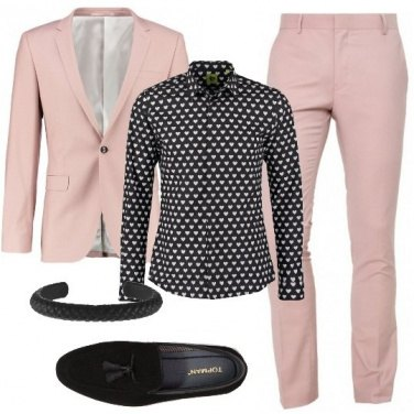 Outfit Splendido in rosa