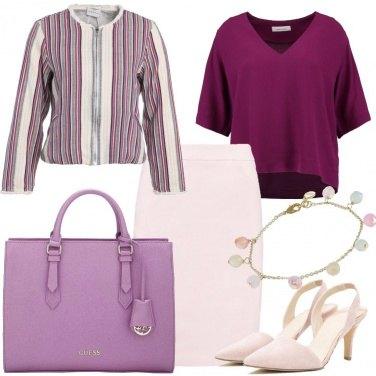 Outfit Riunione di colore