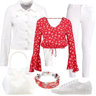 Outfit Biancofiore