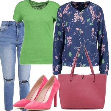 Outfit Arcobaleno di colori