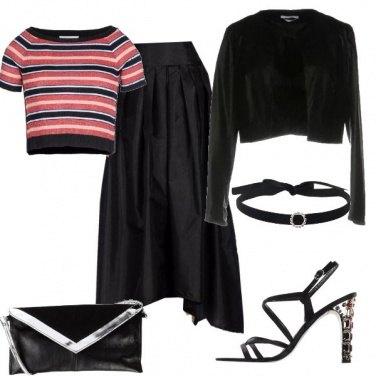 Outfit Una donna femminile e decisa