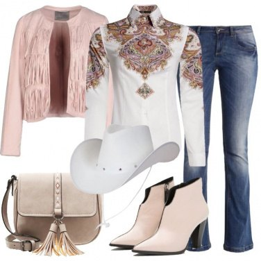Outfit Atmosfera western soft